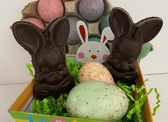 Easter Chocolate Bunny Suckers
