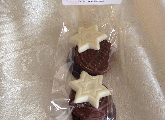 Bag of Assorted Hannakah Chocolates