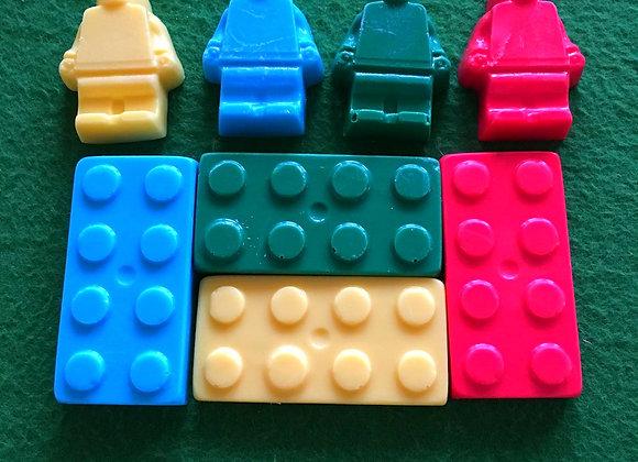 Chocolate Legos - 4 Pieces