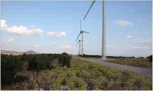 BOZYAKA RÜZGAR ENERJİ SANTRALİ ( 19,70 MW )