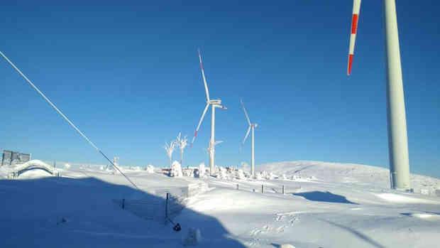OVA RÜZGAR ENERJİ SANTRALİ ( 18 MW )