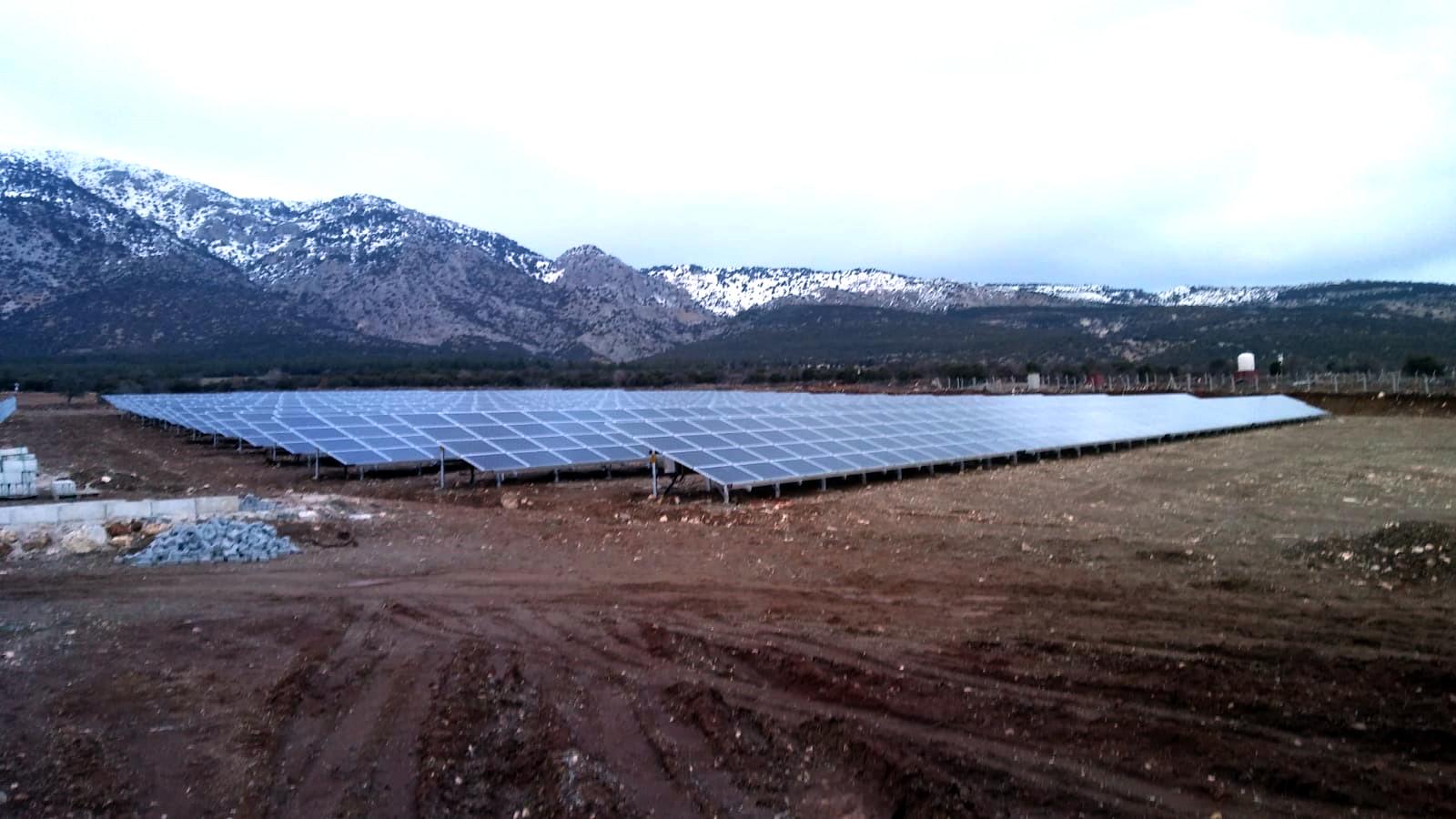 KUZÖREN SOLAR POWER PLANT