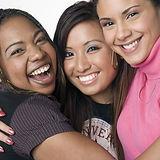 Asian, Latino, African American teen gir