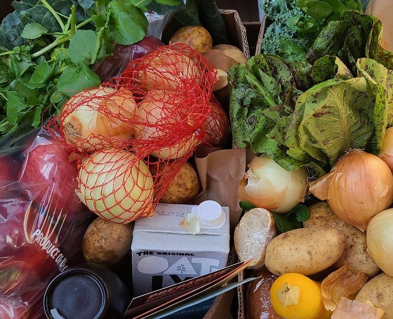 Plant-Based Food Share Box