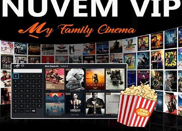My Family Cinema Mensal + Nuvem Premium Grátis