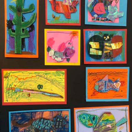 Kinder/1st Grade Art Showcase