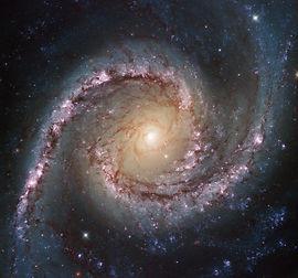swirling stars, spiral, hypnotic