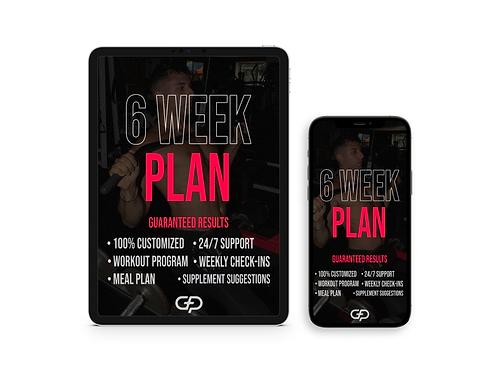 6 Weeks Online Personal Training