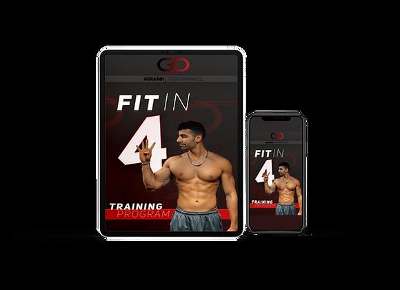 Fit in 4 Weeks Fitness Program