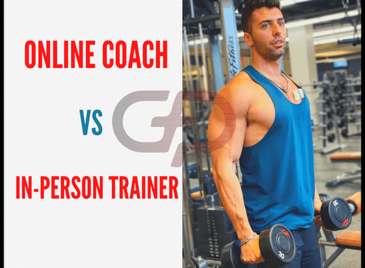 In-Person Personal Training vs Online Coaching