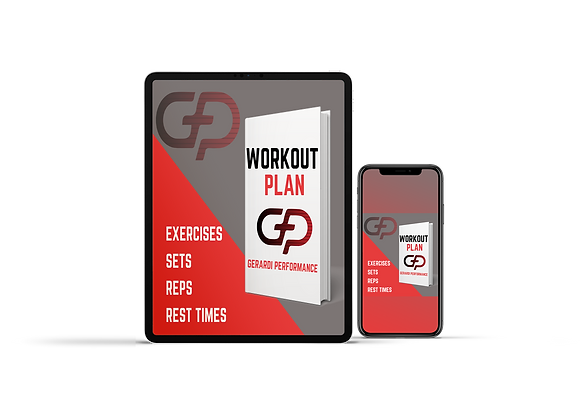 Customized Workout Program