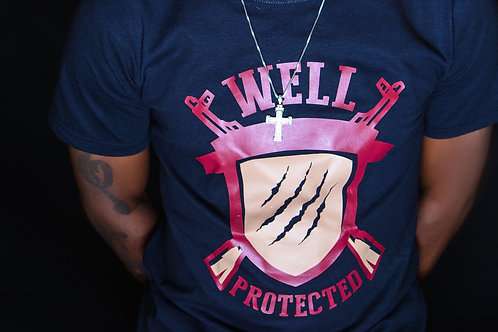 Well Protected t--shirts