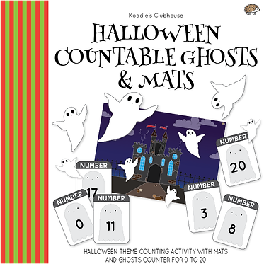 Halloween Countable Ghosts and Mats