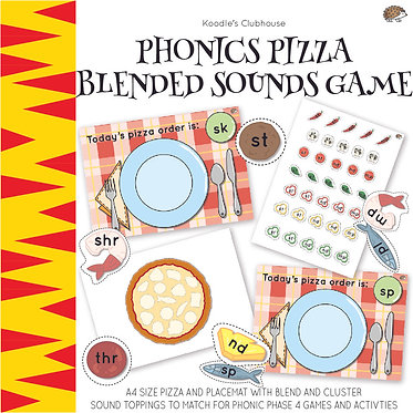 Phonic Pizza Blend Sound Game