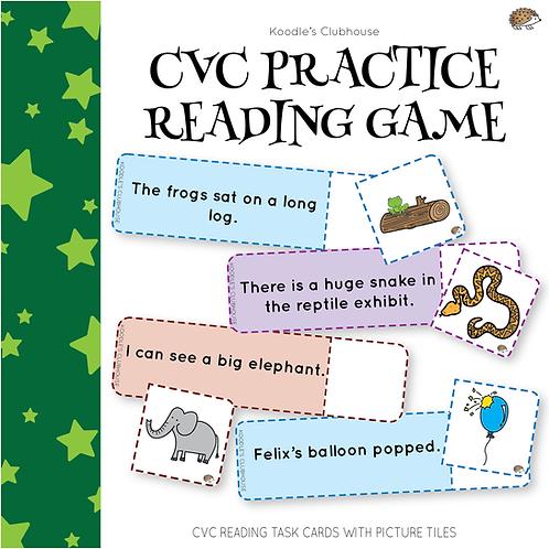 CVC Practice Reading Game