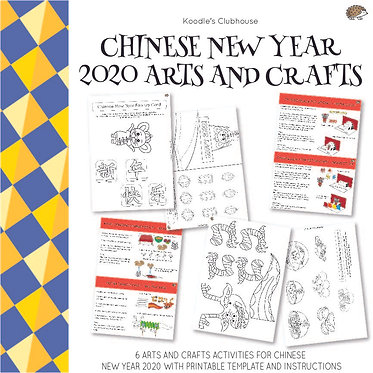 Chinese New Year 2020 Arts and Crafts