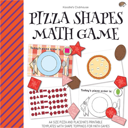 Pizza Shape Matching Game