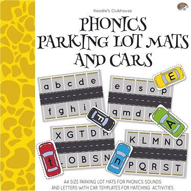 Phonics Parking lot Mats and Cars