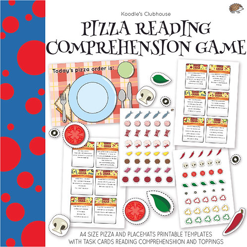 Pizza Reading Comprehension Game