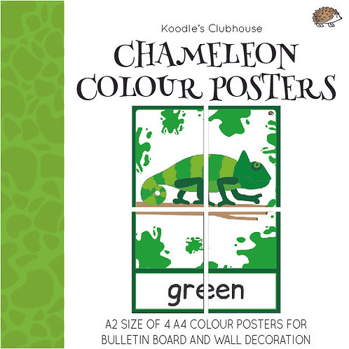 Chameleon Colour Posters
