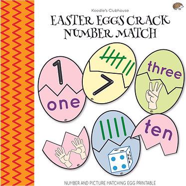 Easter Egg Crack Number Matching