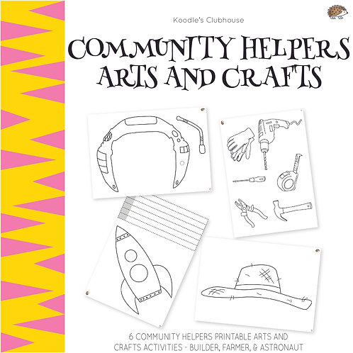 Community Helpers Arts and Crafts