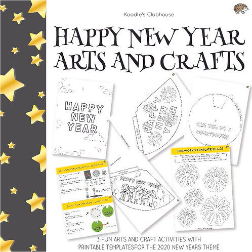 2020 New Year Art and Crafts Activity