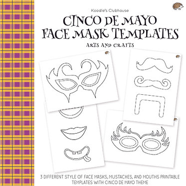 Cinco De Mayo Face Mask Arts and Crafts
