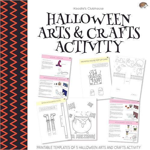 Halloween Arts and Crafts Activity
