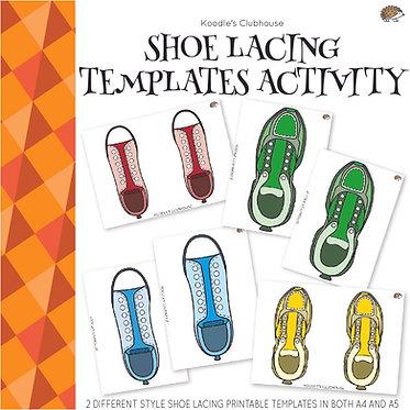 Shoelace Activity Templates