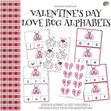 Valentine's Day Love Bug Alphabet