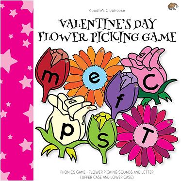 Valentine's Day Phonics Game