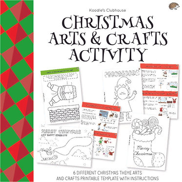 Christmas Arts and Crafts Activity