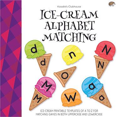 Ice-cream Alphabet Matching