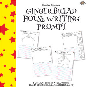 Gingerbread House Writing Prompt