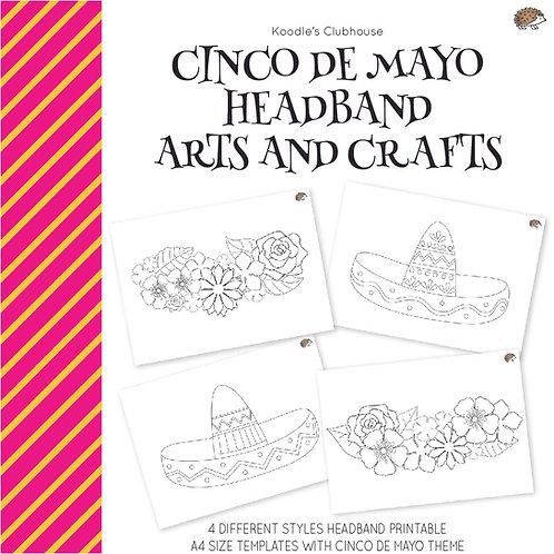 Cinco De Mayo Headband Arts and Crafts
