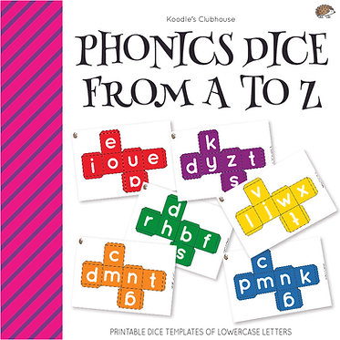 Phonics Dice From A to Z