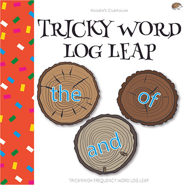 Tricky Word Log Leap