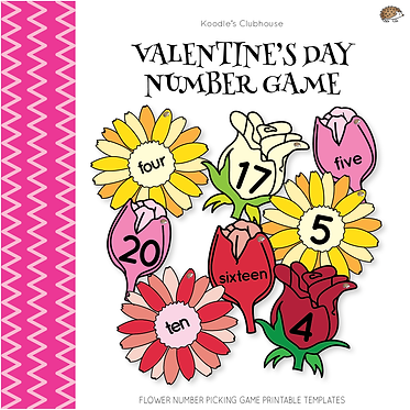 Valentine's day Numbers Game