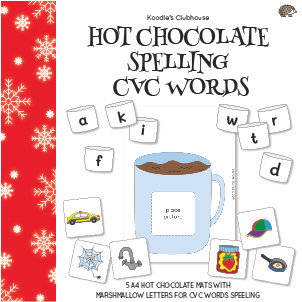 Hot Chocolate Spelling CVC Words