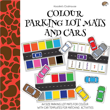Color Parking lot Matching Activity