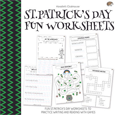 St. Patrick's Day Fun Worksheets