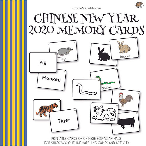 Chinese New Year 2020 Memory Card Activity