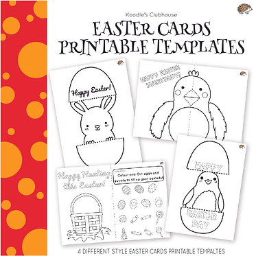 Easter Templates for Arts and Crafts