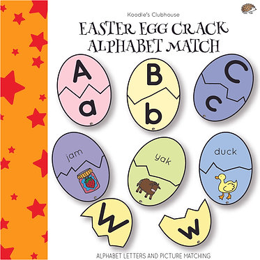 Easter Egg Crack Alphabet Match