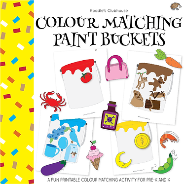 Color Matching Paint Buckets