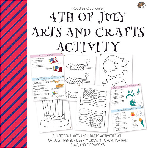 4th of July Arts and Crafts Activities
