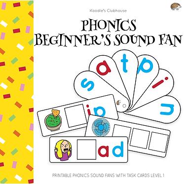 Phonics Beginner's Sound Fan