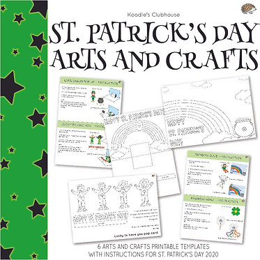 St. Patrick's Day Arts and Crafts