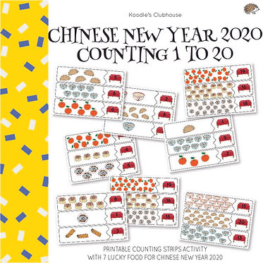 Chinese New Year 2020 Counting Strip